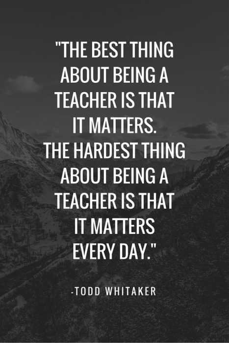 30 Great Motivational and Inspirational Quotes for Teachers