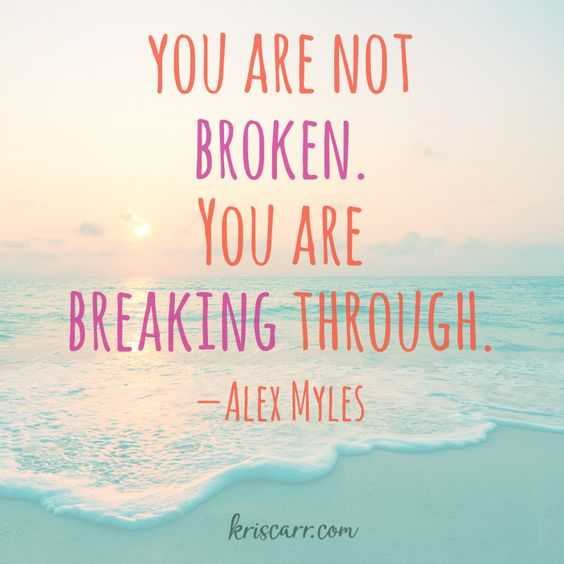 Quotes About Struggle - Breaking Through