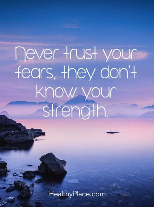 Amazing quotes for struggles in life - fears