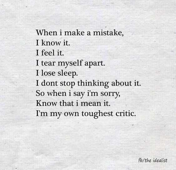 Amazing Quotes on Life - mistakes