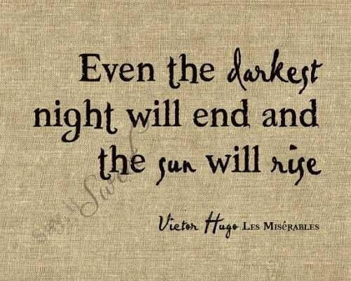 Quotes About Struggle - Darkest Night