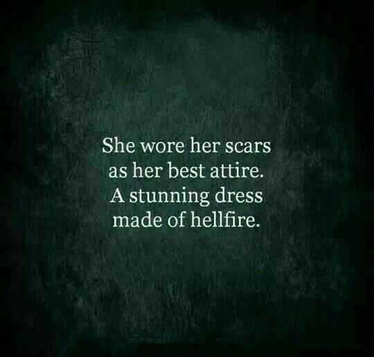 Amazing Quotes on Life - scars