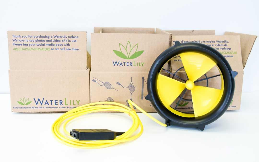 Portable Turbine - Water Lily Water Turbine