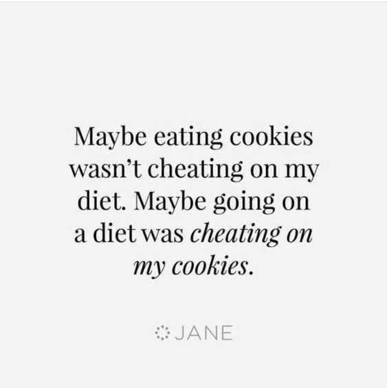 Quote Diet Cookies