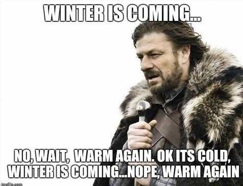 40 Hilarious Winter And Snow Memes For When You're Freezing Your Face Off