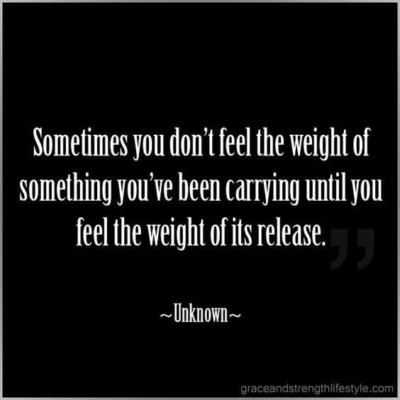 Quotes on releasing burdens