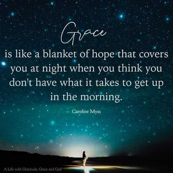 Grace and biblical quotes