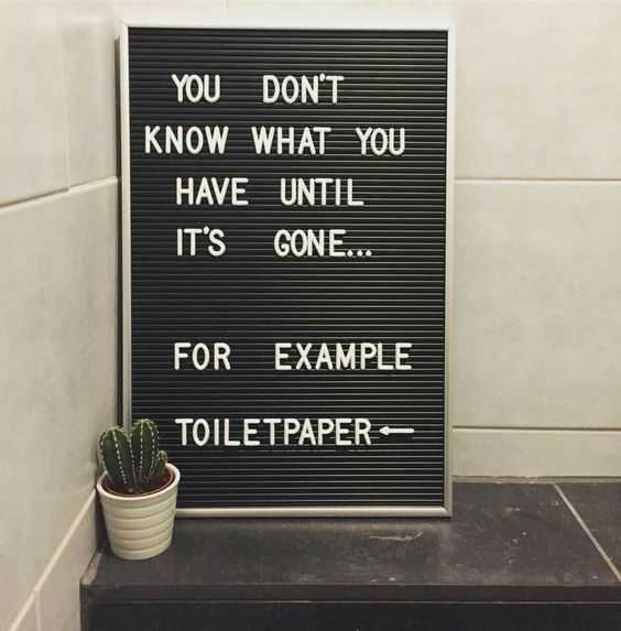 Hilarious letterboard quotes - 2020 covid version