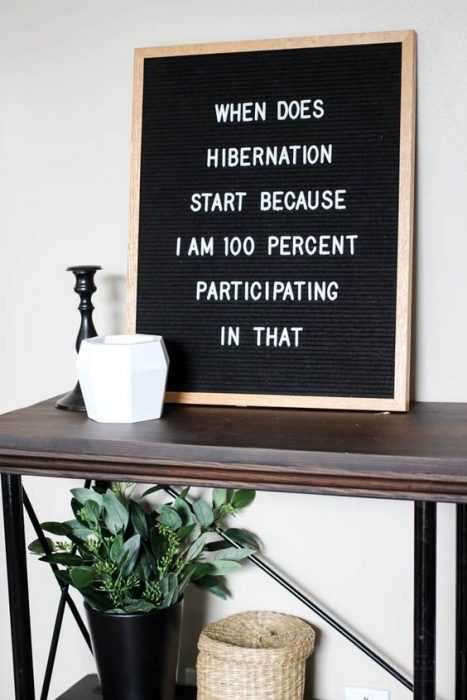 funny letter board quotes - sleep