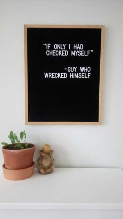 Funny letter board quotes - drivers