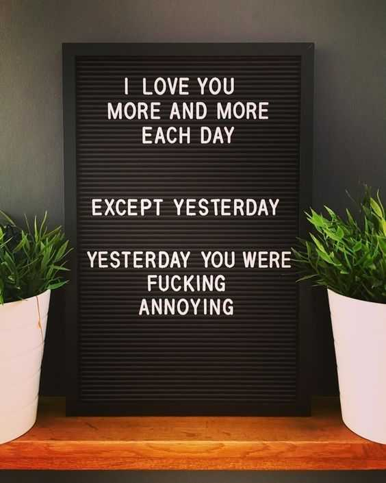 Letter Board Sayings - Yesterday's song