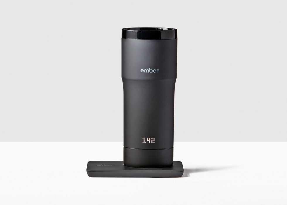 smart travel mug - ember mug