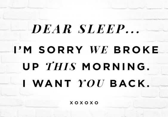 Sarcastic witty quotes - sleep quotes
