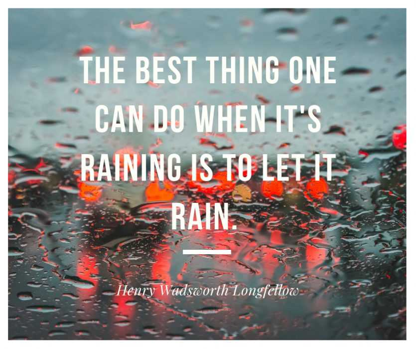Quotes for rain lovers