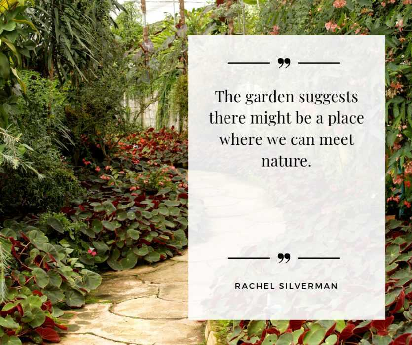 Quotes about nature and gardening