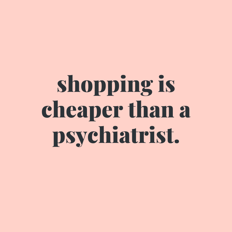 25 Funny Shopping Quotes for the Holiday Season