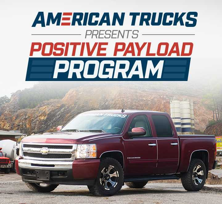 american trucks positive payload program
