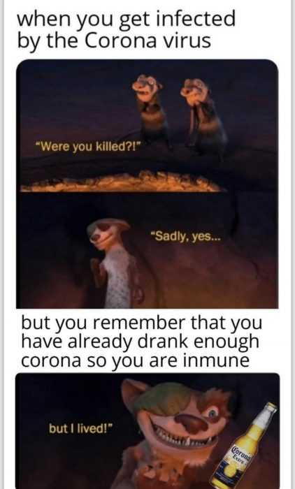 funny corona memes - immunity