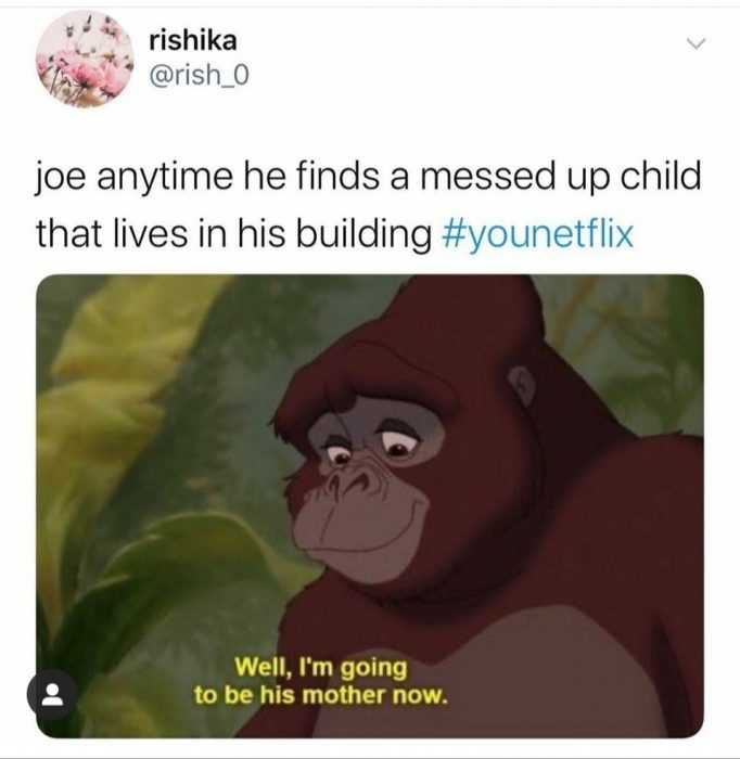 joe goldberg memes - jungle book you meme
