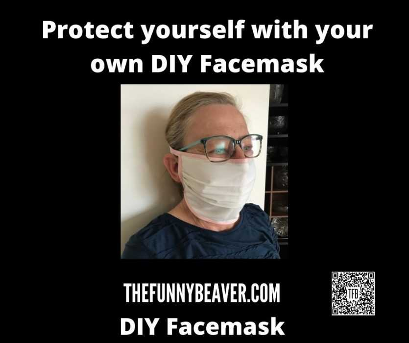 DIY Home made face mask instructions - step 13
