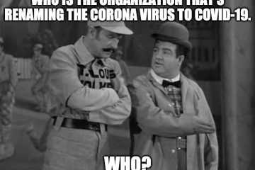 abbott and costello meme about who renaming the corona virus