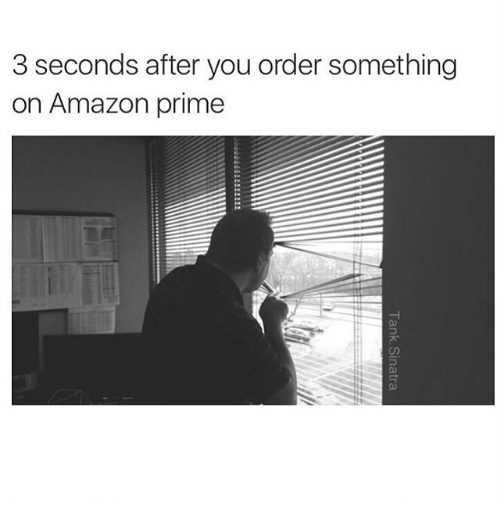Funny Amazon Memes - Waiting For My Amazon Package Meme