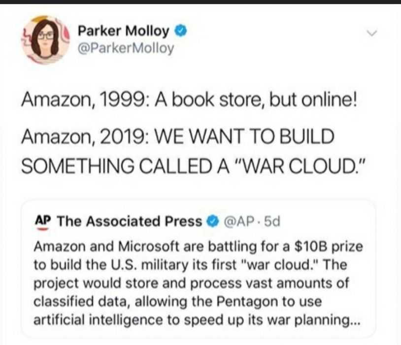 funny amazon memes - amazon declares war on war