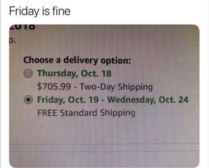 Funny Amazon Memes - Prime Reason