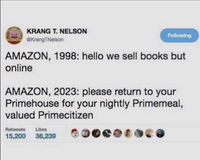 Funny Amazon Memes - Prime Control
