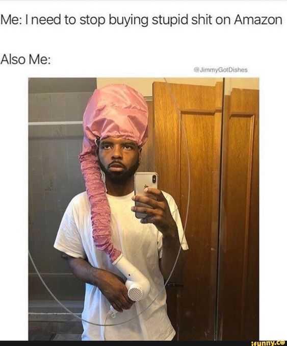 funny amazon memes - useful hair dryer accessory