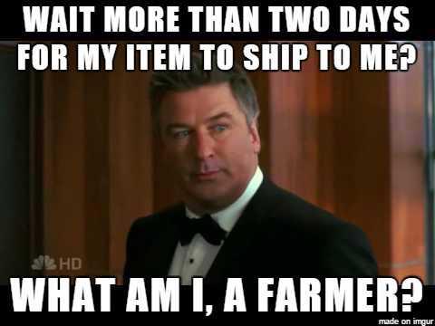Funny Amazon Memes - Impatient Amazon Prime Memeber