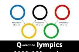 Qlympics contest - compete in the qlympics while in quarantine at home