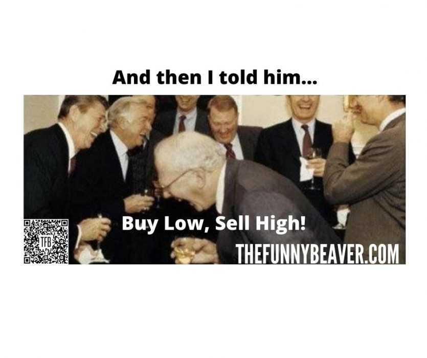 corona virus stock market crash memes - buy low sell high