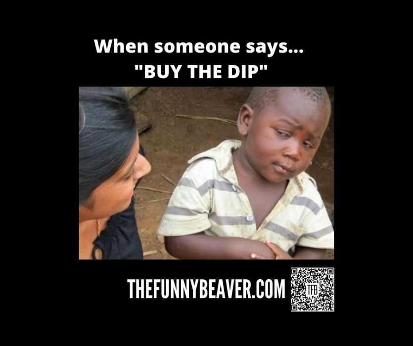corona virus stock market crash memes - buy the dip