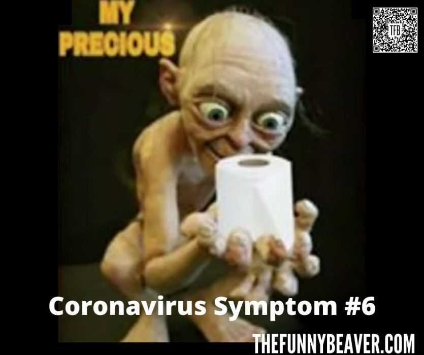 corona virus toilet paper hoarding memes - coronavirus symptom number 6