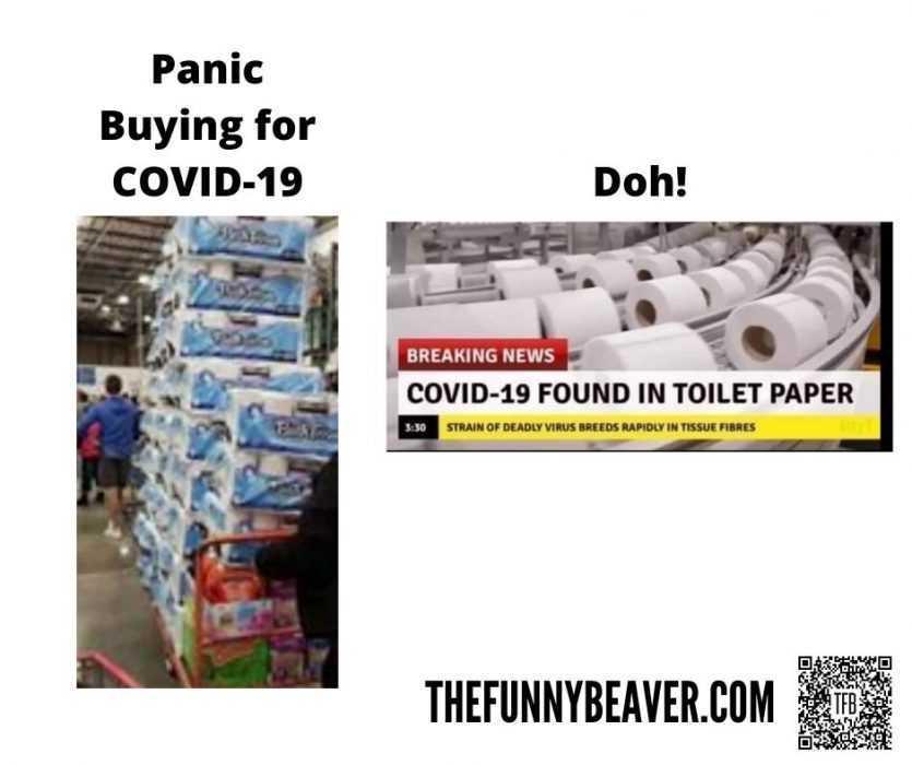 corona virus toilet paper hoarding memes - doh