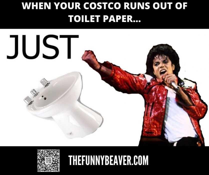 corona virus toilet paper hoarding memes - just bidet