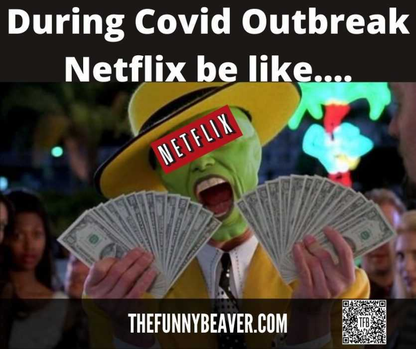 Funny Making Money From Crisis Memes - Netflix Goes Boom
