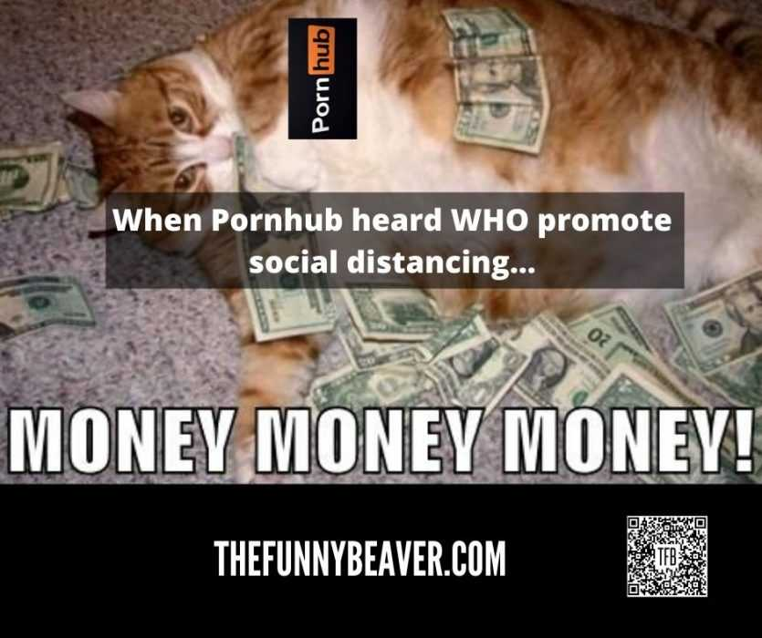 Funny Making Money From Crisis Memes - Pornhub Making Bank