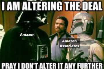 Amazon Dropping Commission Rates In Midst Of Coronavirus Crisis - Darth Vader Meme