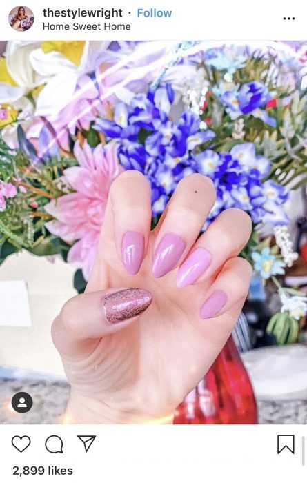creative diy nail ideas - floral shades