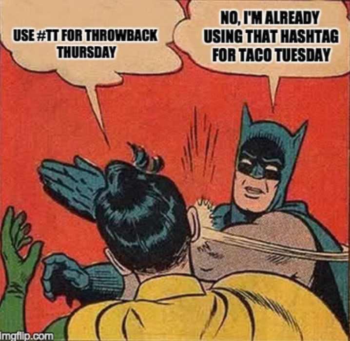 Throwback Thursdays Memes - Batman And Robin Taco Tuesdays