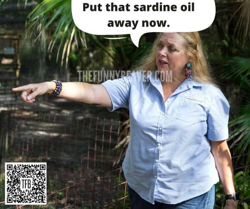 carole baskin memes - carole baskin ordering her interns