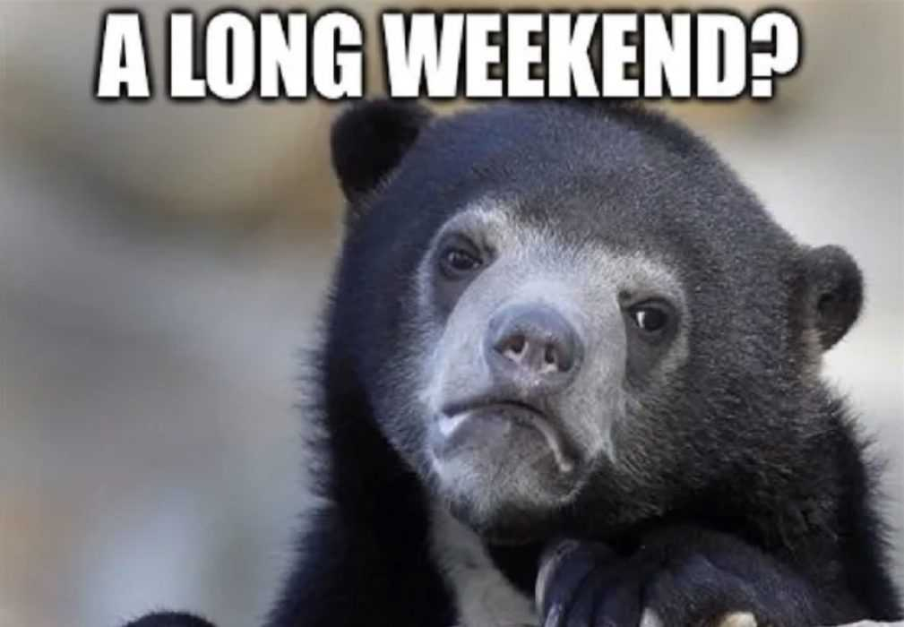 easter long weekend quarantine meme - a long weekend meme you don't expect