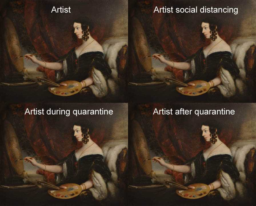 Funny Quarantine Memes - Artists In Their Own World