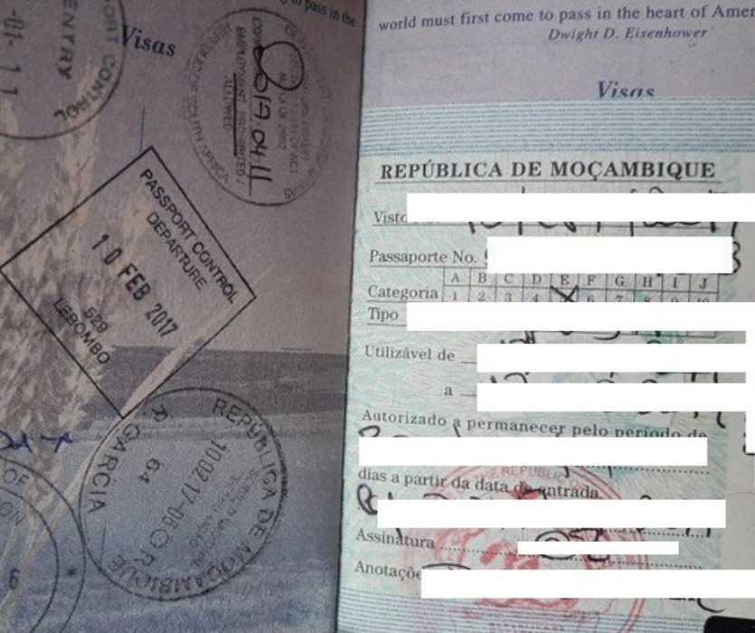 mozambique visa on arrival - Canadian Passport