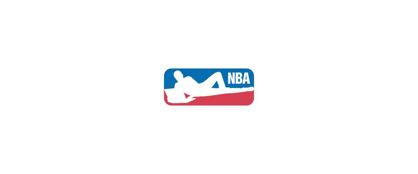 Corporate Logo Makeover - NBA logo shows what the players are doing now
