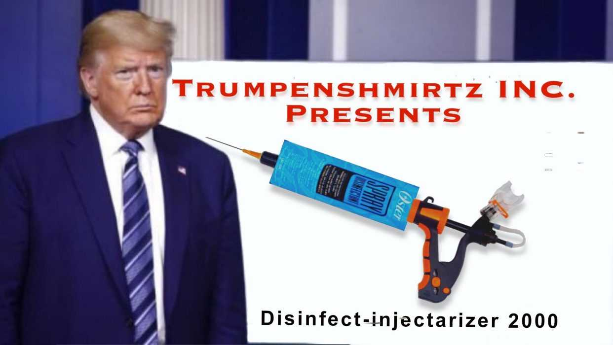 Lysol Memes Bleach Memes and Disinfectant Memes - meme of a lysol injectarizer