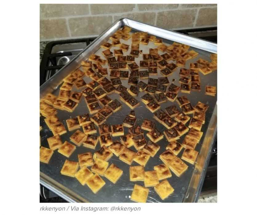 Work From Home Fails - Preparing Snacks For Child While Working From Home