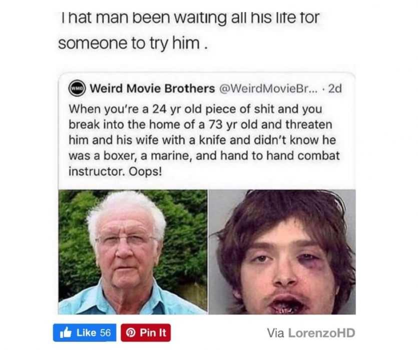 worry for humanity - life fails - dumb burglar fail
